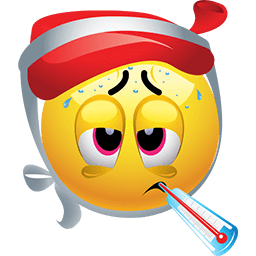 Bad Flu Emoticon