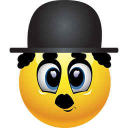 Chaplin In Town Emoticon