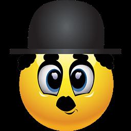 Chaplin In Town Emoticon