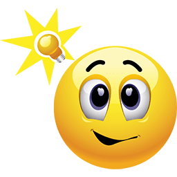 Bright Idea Emoticon