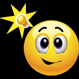Bright Idea Emoticon