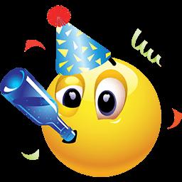 Party All Night Emoticon