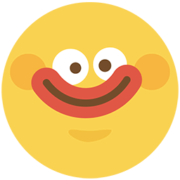 Smile And Blush Emoticon