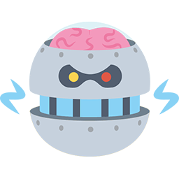 Brain Fry Emoticon