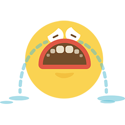 Cry Baby Emoticon