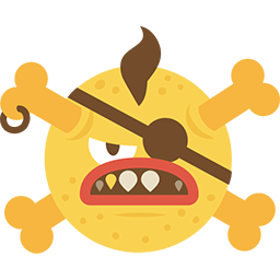 Angry Pirate Emoticon