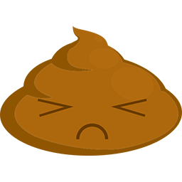 Poop Upset Emoticon