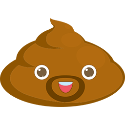 Poop Frenchie Emoticon
