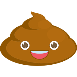 Poop Smile Emoticon