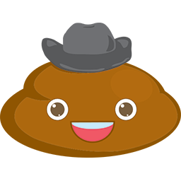 Poop Hat Emoticon