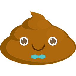 Poop Bowtie Emoticon