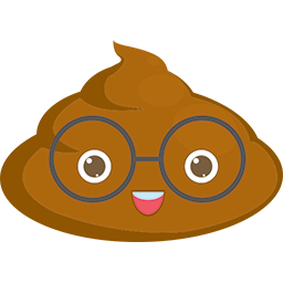 Poop Glasses Emoticon