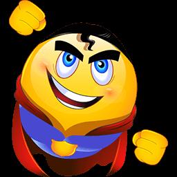 I Am Superman Emoticon