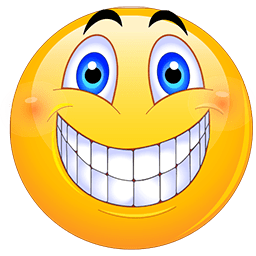 Big Grin Emoticons for Facebook, Email & SMS | ID#: 4 ...