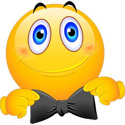 All Dressed Up Emoticon