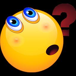 Puzzled Face Emoticon