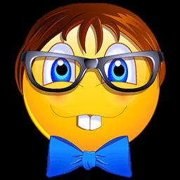 Nerd Face Emoticon