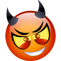 Devilish Ploy Emoticon