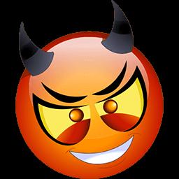 Devilish Ploy Emoticon