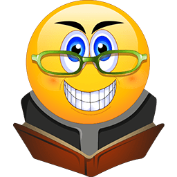 Book Worm Emoticon