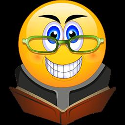 Book Worm Emoticon