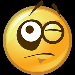 Got A Black Eye Emoticon
