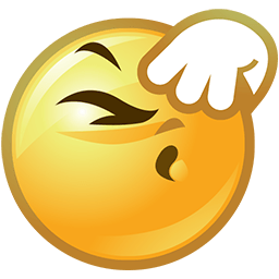 Don't Wanna Watch Emoticon