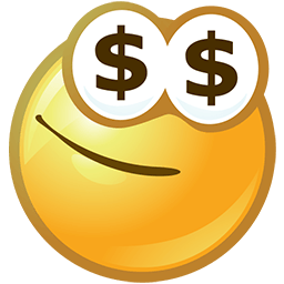 Money Money Money Emoticon