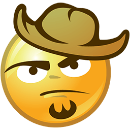 Bearded Hatter Emoticon