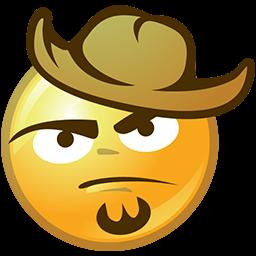 Bearded Hatter Emoticon
