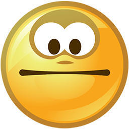 Keep A Straight Face Emoticon