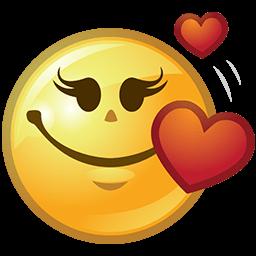 All Hearts Emoticon