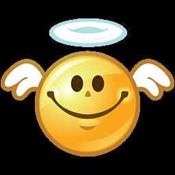 Angelic Smile Emoticon