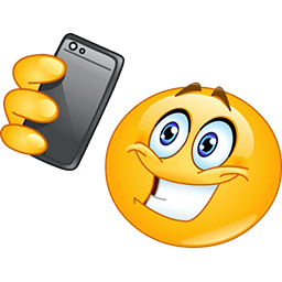 Here's My Selfie Emoticon