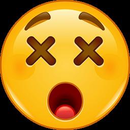 Cross Eye Emoticon
