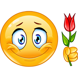 Love Rose Emoticon
