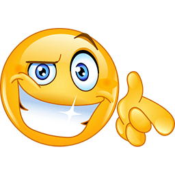 There You Go Emoticon