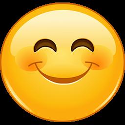 Chubby Grin Emoticon