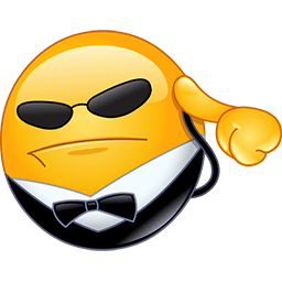 Mr Bodyguard Emoticon