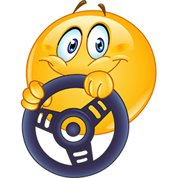 Driving By Emoticon