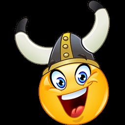 Viking Smile Emoticon