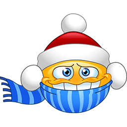 It's Christmas Emoticon