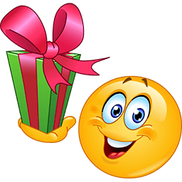 Gift For You Emoticon