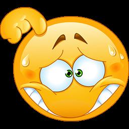 Thinking Hard Emoticon