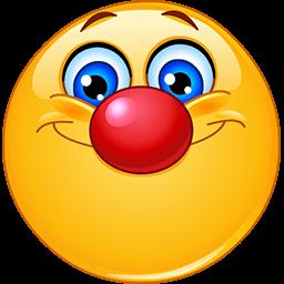 Clown Face Emoticon