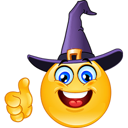 Witch Hitchhiker Emoticon