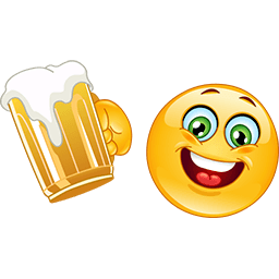 Have A Beer Emoticon