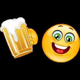 Have A Beer Emoticon