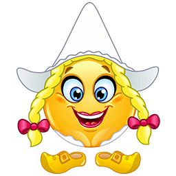 Swiss Girl Emoticon