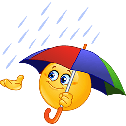 Rainy Day Emoticon